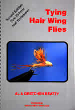 Book Tying Hair Wing Flies